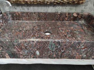 Handwaschbecken aus Granit